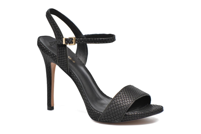 Sandales et nu-pieds COSMOPARIS Jadia/Pyt Noir vue détail/paire