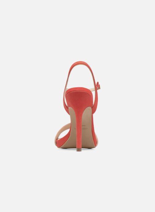 Sandalen COSMOPARIS Jadia/Nub Rood rechts