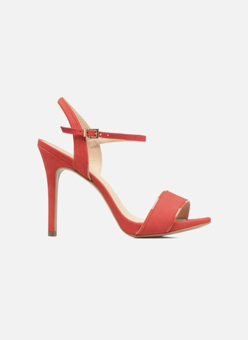 Sandalen COSMOPARIS Jadia/Nub Rood achterkant