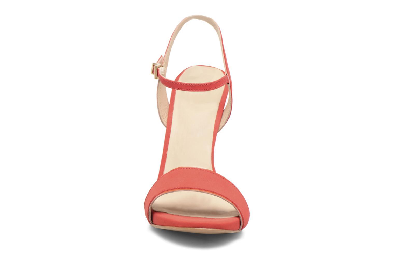 Sandales et nu-pieds COSMOPARIS Jadia/Nub Rouge vue portées chaussures