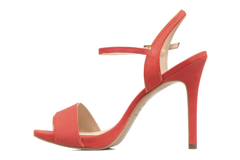 Sandales et nu-pieds COSMOPARIS Jadia/Nub Rouge vue face