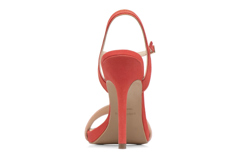 Sandales et nu-pieds COSMOPARIS Jadia/Nub Rouge vue droite