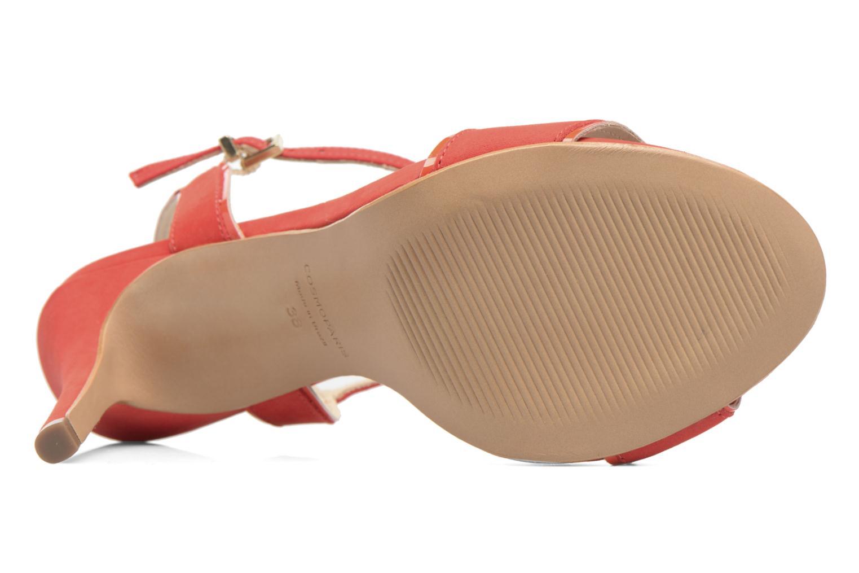 Sandales et nu-pieds COSMOPARIS Jadia/Nub Rouge vue haut