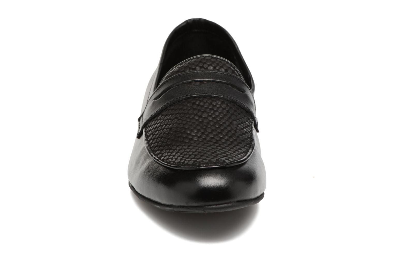 Mocassins COSMOPARIS Vili/Bi Noir vue portées chaussures