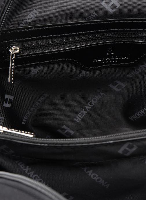 Sacs à dos Hexagona Sac à dos nylon Noir vue derrière