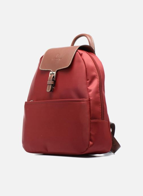 Mochilas Hexagona Sac à dos nylon Rojo vista del modelo