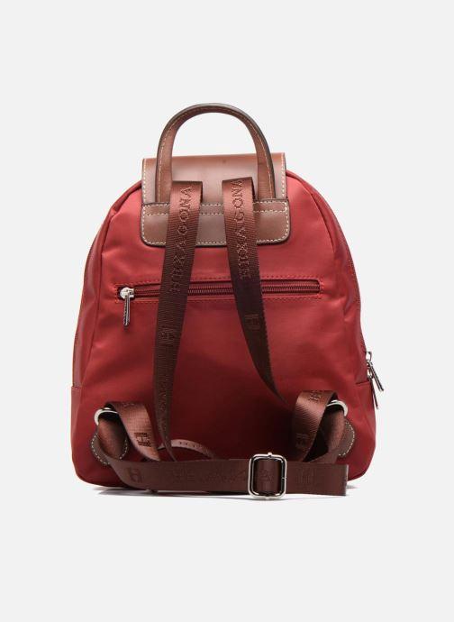 Mochilas Hexagona Sac à dos nylon Rojo vista de frente