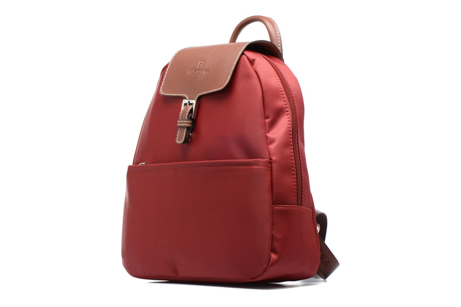 nylon à Sac Hexagona Rouge dos tawA5xqA