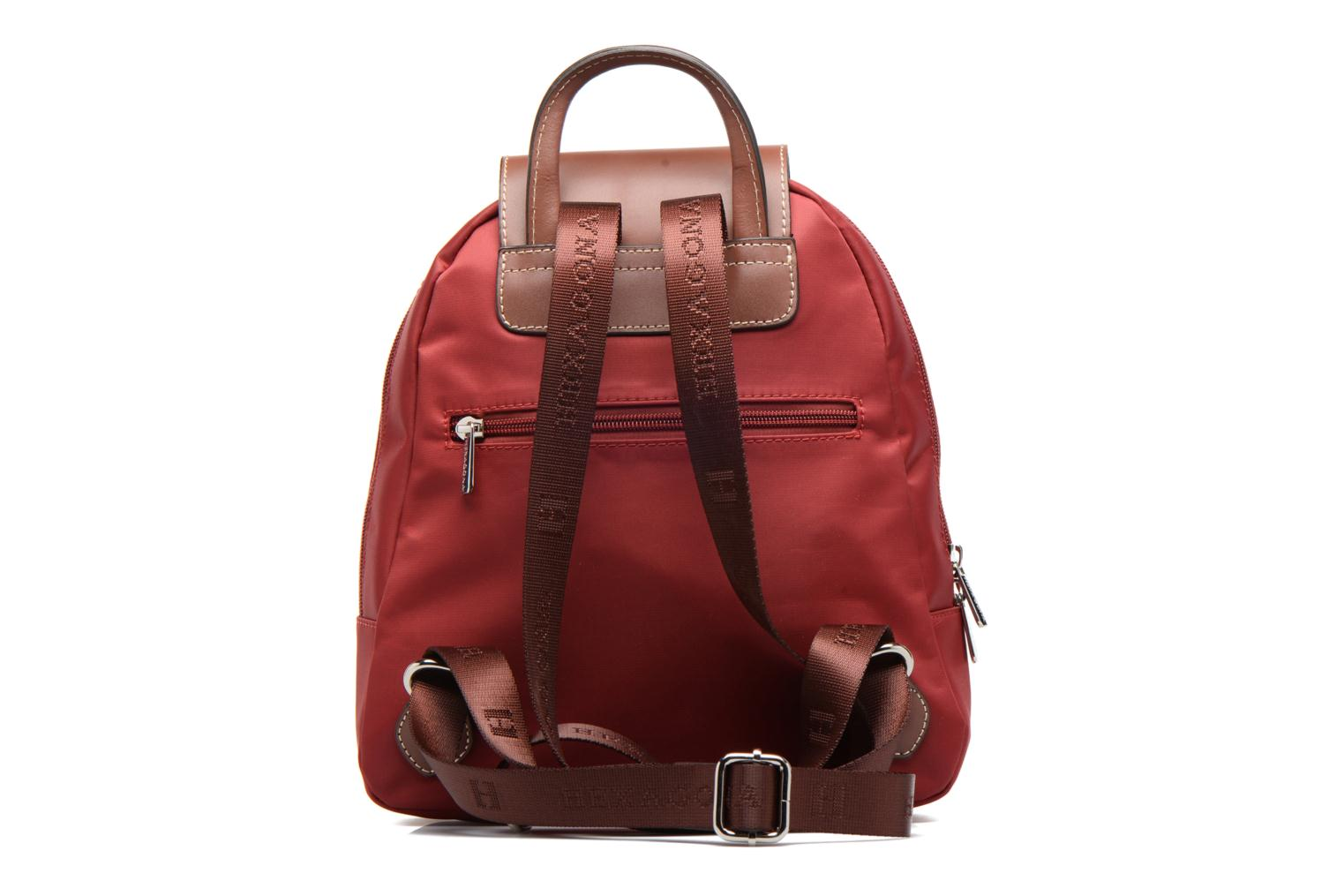 Hexagona Rouge nylon à Sac dos TxwqARTZB