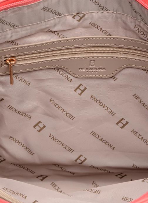Handtassen Hexagona Confidence Cabas Roze achterkant