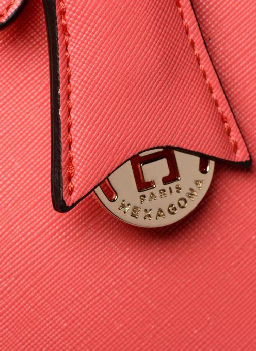 Handtassen Hexagona Confidence Cabas Roze links