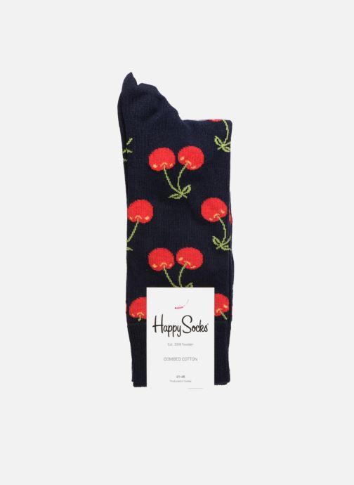 Chaussettes et collants Happy Socks Chaussettes Cherry Bleu vue portées chaussures