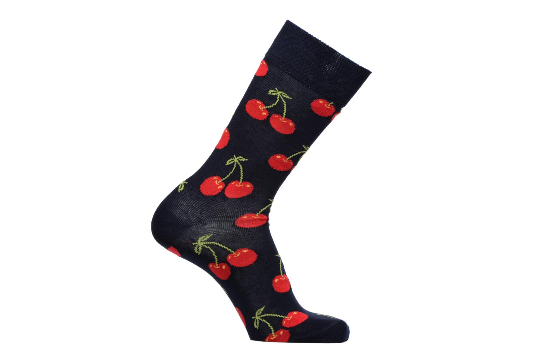 Sokken en panty's Happy Socks Chaussettes Cherry Blauw detail
