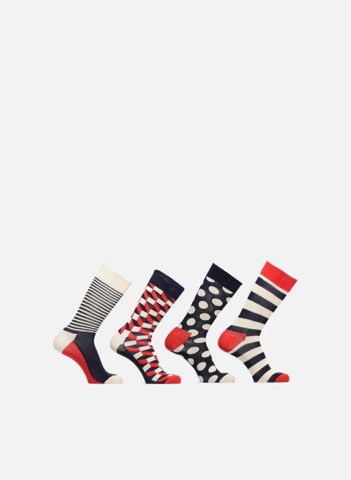 Strumpor och strumpbyxor Happy Socks Chaussettes Classic Gift box Blå detaljerad bild på paret
