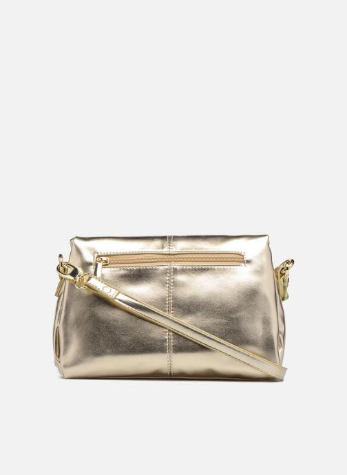 Handbags Mellow Yellow BUTIN Bronze and Gold front view
