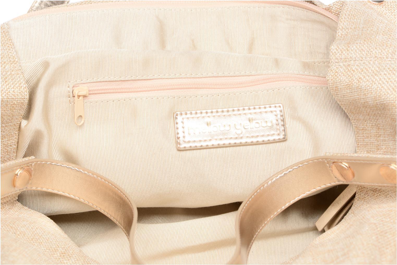 Handbags Mellow Yellow BUNNY Beige back view