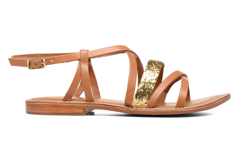 Sandales et nu-pieds L'Atelier Tropézien Juju Marron vue derrière