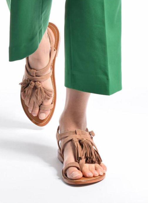 Et Tan Martine Tropézien pieds L'atelier Sandales Nu lFcK1J