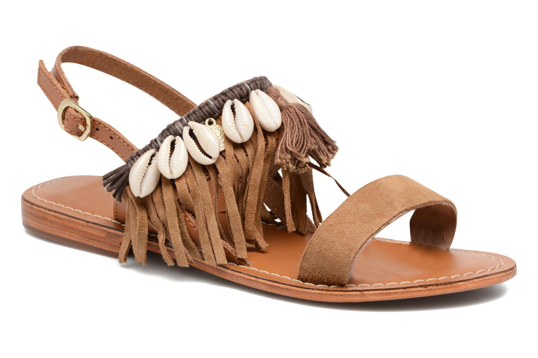 Sandali e scarpe aperte L'Atelier Tropézien Shoshana Marrone vedi dettaglio/paio