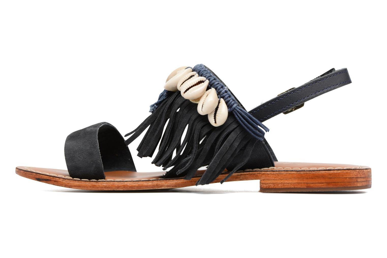 Sandali e scarpe aperte L'Atelier Tropézien Shoshana Azzurro immagine frontale
