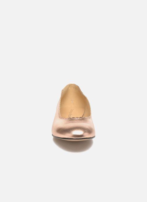 Ballerines Georgia Rose Sanfeston Or et bronze vue portées chaussures