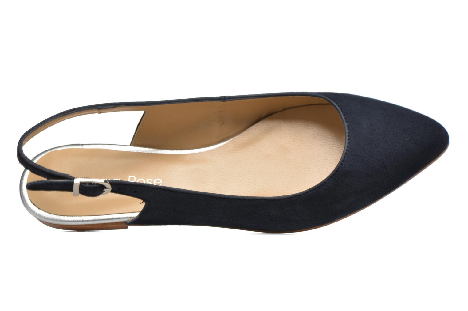 Ballet pumps Georgia Rose Sanbac Blue view from the left