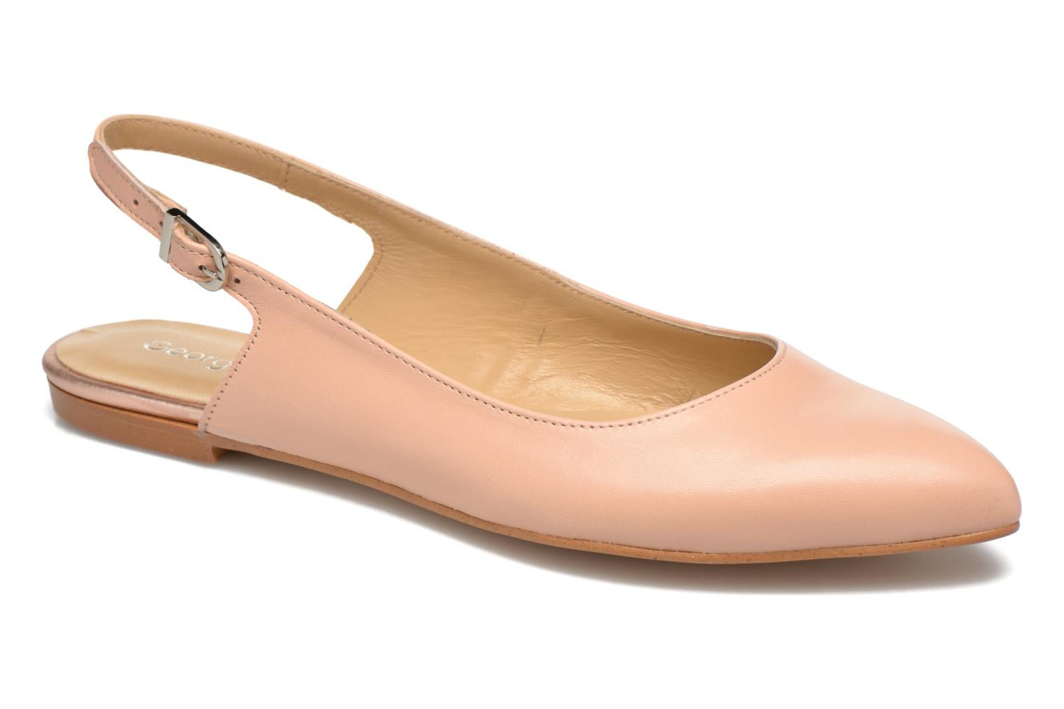 Ballet pumps Georgia Rose Sanbac Beige detailed view/ Pair view