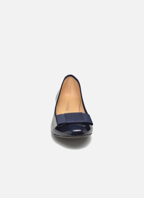 Ballerines Georgia Rose Santoomi Bleu vue portées chaussures