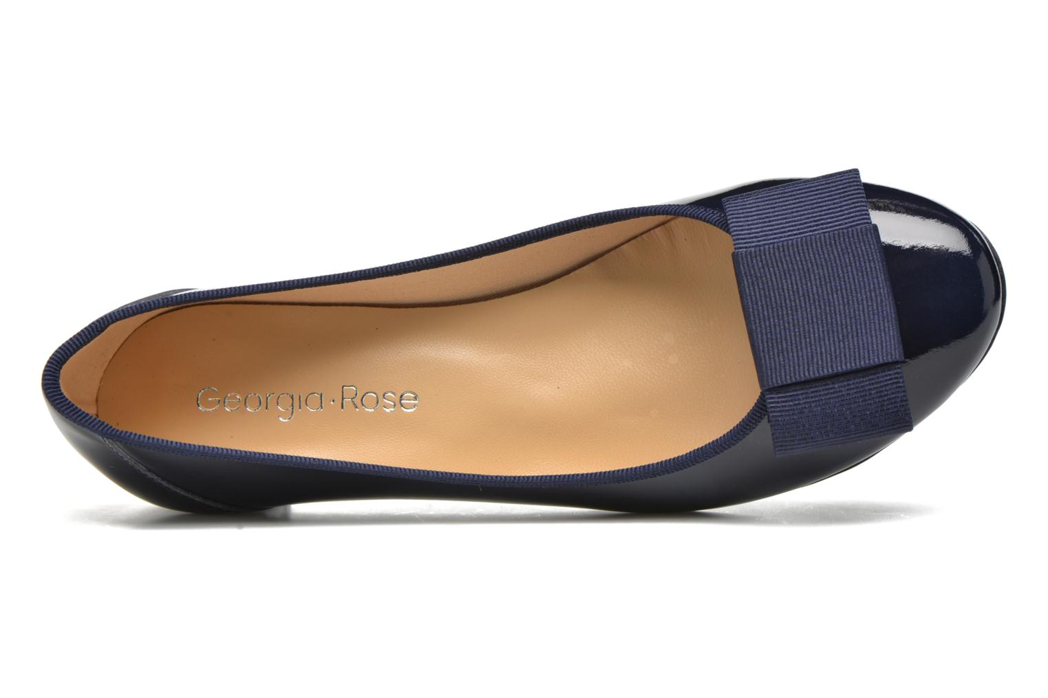 Ballet pumps Georgia Rose Santoomi Blue view from the left