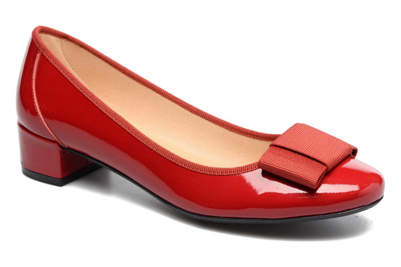 Ballerinaer Georgia Rose Santoomi Rød detaljeret billede af skoene