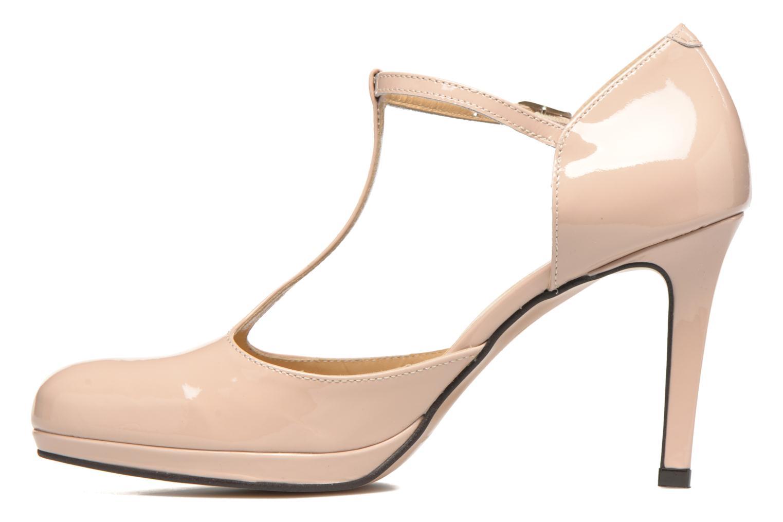 Zapatos de tacón Georgia Rose Sialto salomé Beige vista de frente