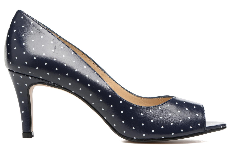 High heels Georgia Rose Sotoe Blue back view