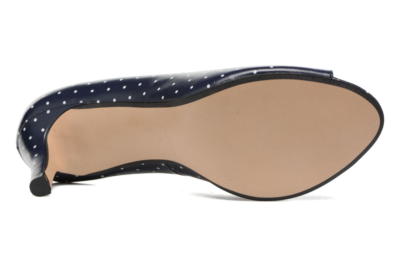 Zapatos de tacón Georgia Rose Sotoe Azul vista de arriba