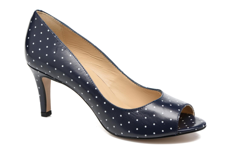 High heels Georgia Rose Sotoe Blue detailed view/ Pair view