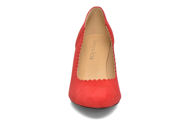 Escarpins Georgia Rose Saston Rouge vue portées chaussures