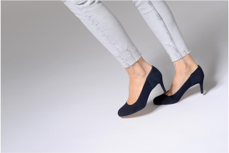 Zapatos de tacón Georgia Rose Saston Azul vista de abajo