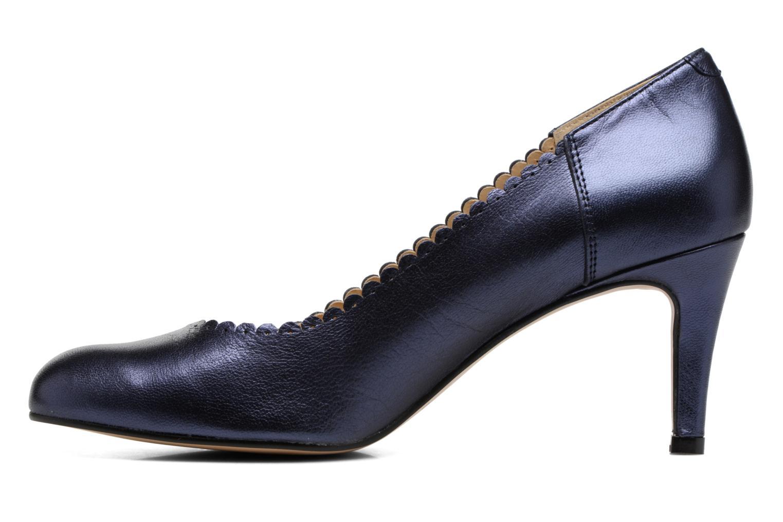 Zapatos de tacón Georgia Rose Saston Azul vista de frente