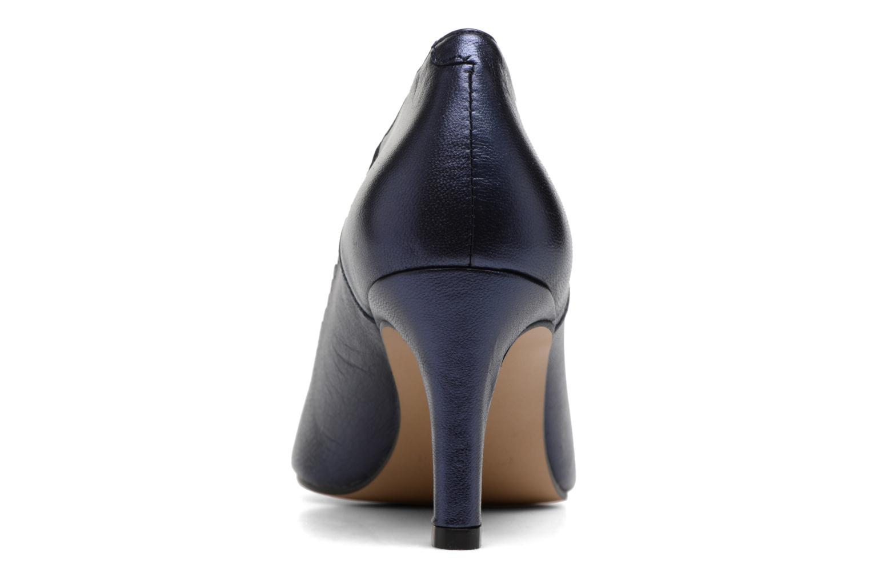 Zapatos de tacón Georgia Rose Saston Azul vista lateral derecha