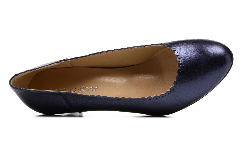 Zapatos de tacón Georgia Rose Saston Azul vista lateral izquierda