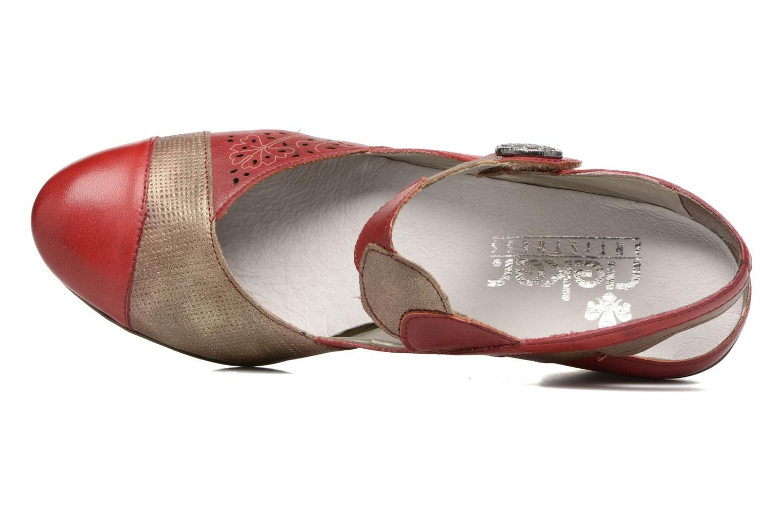 Sandales et nu-pieds Rieker Floris 45175 Rouge vue gauche