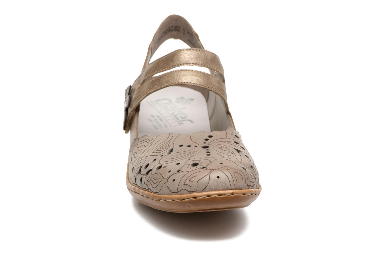 Sandales et nu-pieds Rieker Pima 47195 Gris vue portées chaussures