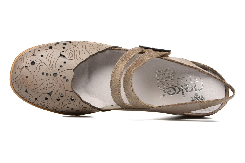 Sandales et nu-pieds Rieker Pima 47195 Gris vue gauche