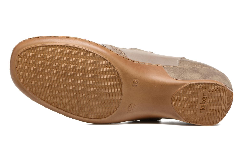 Sandales et nu-pieds Rieker Pima 47195 Gris vue haut
