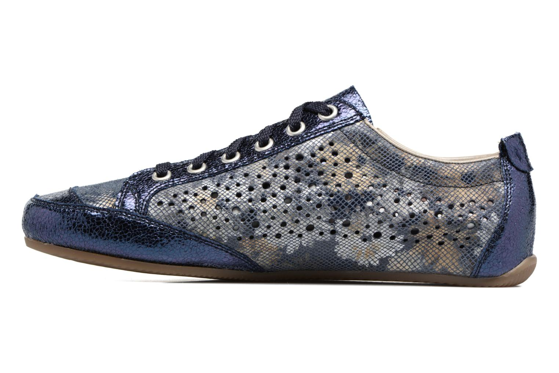 Sneakers Rieker Wim 57715 Blå se forfra