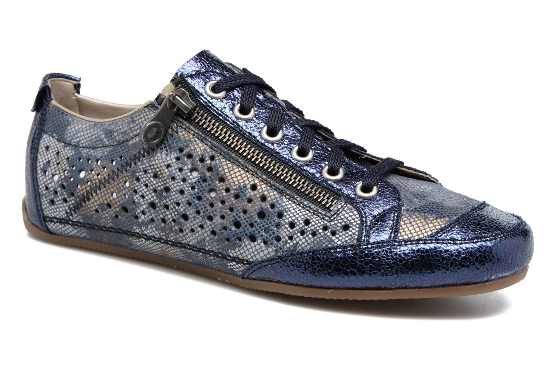Sneakers Rieker Wim 57715 Blå detaljeret billede af skoene