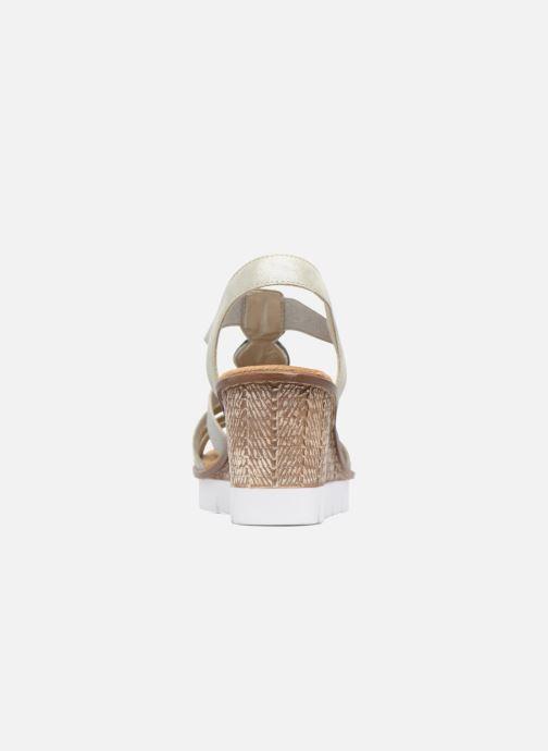 Sandali e scarpe aperte Rieker Jikke 65540 Grigio immagine destra