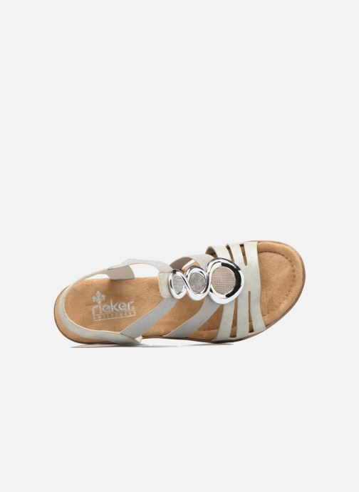 Sandali e scarpe aperte Rieker Jikke 65540 Grigio immagine sinistra