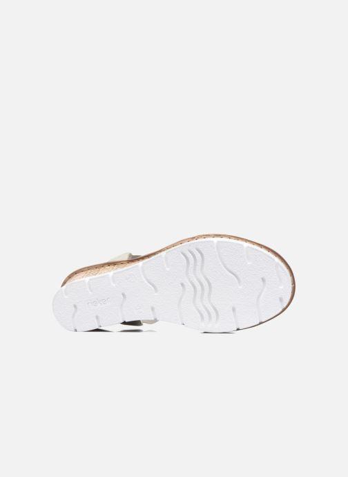 Sandali e scarpe aperte Rieker Jikke 65540 Grigio immagine dall'alto