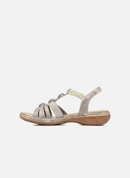 Rieker Ria 65939 (Argent) Sandales et nu pieds chez