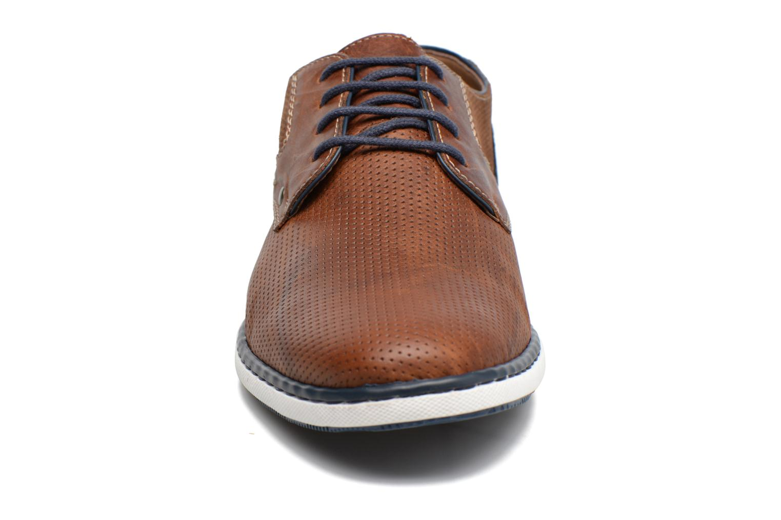 Lace-up shoes Rieker Epke 17824 Brown model view